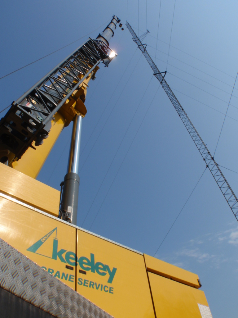 Crane rentals and load charts in Portland, ME - Keeley Crane Service